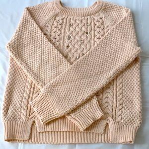 Gap Girls Sweater (Cream with Gems)